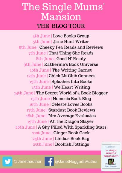 The Single Mums Mansion blog tour (1)