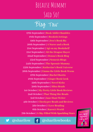 Because Mummy Said So blog tour poster (1).png
